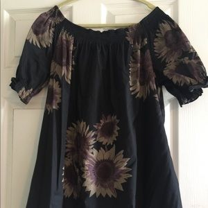 FREE PEOPLE off shoulder dress. Never been worn